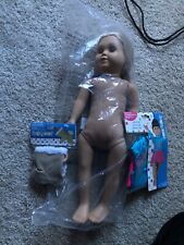 18 Inch Doll, Abby Springfield Girl Blue Eyes and Blonde Hair With Outfit New!