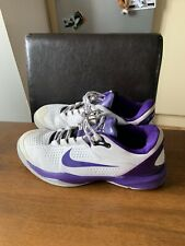 Kobe 4 Venomenom White Laker Purple UK Size 9.5