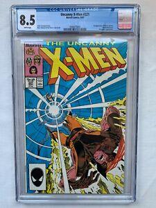 Uncanny X-Men 221 - CGC Graded