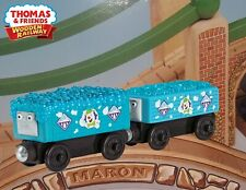 THOMAS & FRIENDS WOODEN RAILWAY ~ LOGAN AND THE BIG BLUE ENGINES ACCESSORY PACK