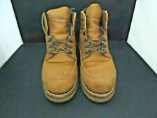 RED WING SHOES CHUKKA STYLE ELECTRICAL HAZARD  WORK BOOTS