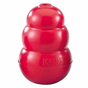 Classic KONG Rubber Red Dog Toy - Small, Medium, Large, X-Large, XX-Large