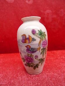 Belle, vieux Vase Chine Décoration Marqué_