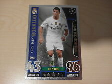 Match Attax 2015/2016 Cristiano Ronaldo LE1 silber limited Champions League