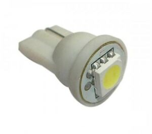 N° 2 Light Bulbs LED T10 W5W White Pure 5000K Position Sign X Car Motorbike 12V