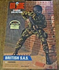 Gi Joe Classic Collection British S.A.S. Unopened. Limited edition. Blonde