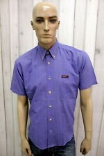 MARLBORO CLASSICS Taglia XL Camicia Uomo Shirt Cotone Casual Manica Corta