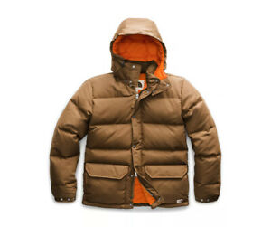 THE NORTH FACE MAN DOWN SIERRA JACKET Giacca in Piumino Uomo BROWN NF0A48LC