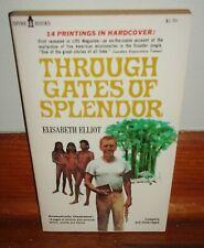 THOUGH GATES OF SPLENDOR-Ecuador Missionaries-Elisabeth Elliot-BRAND NEW 1977!