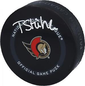 Tim Stutzle Ottawa Senators Autographed Official Game Puck