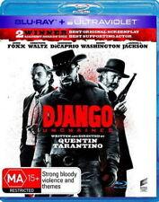DJANGO UNCHAINED New Blu-Ray + UV JAMIE FOXX ***