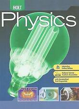Holt Physics: Student Edition 2009 by HOLT, RINEHART AND WINSTON