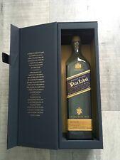 "Johnnie Walker Blue Label Bottle with Gift Box 750ml ""EMPTY"""