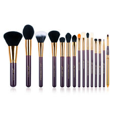 UK Jessup 15Pcs Make up Brushes Set Powder Foundation Blending Eyeliner Tools