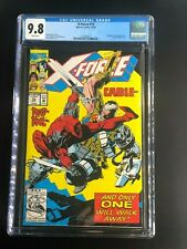 X-Force #15 CGC 9.8 WHITE Pages Oct. 1992 Marvel Deadpool! Cable! ORIGINAL OWNER