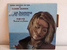 BO Film OST Un homme et une femme NICOLE CROISILLE PIERRE BAROUH EP1035