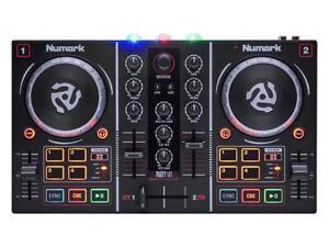 NUMARK PARTY MIX CONSOLLE 2 CANALI CONTROLLER USB SERATO DJ GARANZIA UFFICIALE