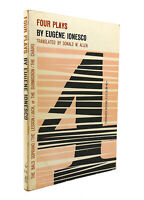 Eugene Ionesco FOUR PLAYS  1st Edition 4th Printing