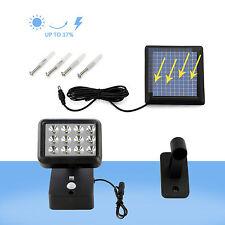 LED Solarleucht mit Bewegungsmelder Wandleuchte Außenleuchte für Garage Garten
