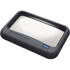 Handheld LED Magnifier, Rectangular, 4 x 2