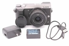 Panasonic Lumix GX85 4K Mirrorless Camera with 12-32mm MEGA O.I.S. Lens - Silver