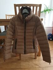 ESPRIT LADIES SIZE 10 TAN BROWN DOWN & FEATHER COAT JACKET BRAND NEW WINDCHEATER