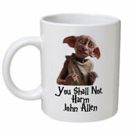 Personalised Harry Potter Dobby The Elf Funny Mug Birthday Gift Present Any Name
