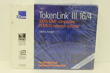 3COM 3C689 TOKENLINK III 16/4 PCMCIA NETWORK ADAPTER NEW SEALED BOX