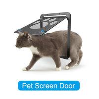 Pet Screen Door-- Pet Window Screen Dog Door Screen Door for Cats Dogs