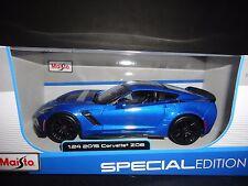 Maisto Chevrolet Corvette C7 Z06 2015 Blue 1/24 31133