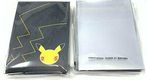 Pokemon Celebrations 25th Anniversary ETB Sleeves 2 Pack Bundle - 130 Total