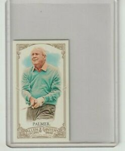 2012 Topps Allen Ginter Arnold Palmer Mini Golf Card #105