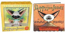SKIPPYJON JONES Book & Toy PLUS Skippyjon Jones Mummy Trouble NEW