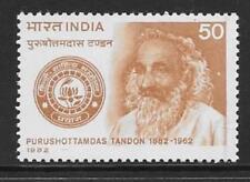India SG1068 1982 Nacimiento Centenario De purushottamdas Tandon estampillada sin montar o nunca montada