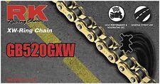RK GB520GXW-106 520 GXW GB XW-Ring Chain 106 Links Gold