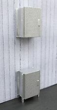 Stainless Shop Cabinets (2) Miniatures Base Unit w Top 1/24 Scale Diorama Items