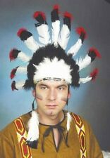 Federschmuck*Indianer*Kopfschmuck*für Erwachsene