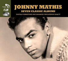 Johnny Mathis SEVEN (7) CLASSIC ALBUMS VOL 1 Merry Christmas OPEN FIRE New 4 CD