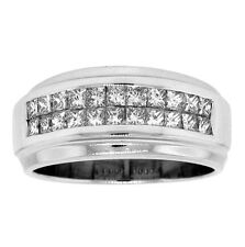 Ring 18K White Gold 1.10ct Ladies Princess Cut Diamond
