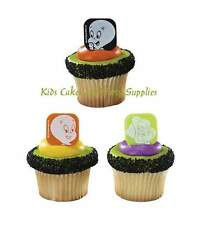 CASPER THE FRIENDLY GHOST AND WENDY CUPCAKE RINGS Party Favors Cake Toppers 24