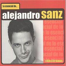 Alejandro Sanz Lo Escencial de Alejandro Sanz [Box] (CD, Nov-2001, 3...