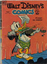WALT Disney 's Comics & Stories #114 (Carl Barks) Walt Kelly (Tony Strobl) $285,-