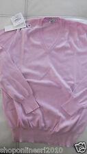 KANGRA  MAGLIONE PRIMAVERA ESTATE CARTELLINO 190,00 TG 54 NUOVO COTONE rosa