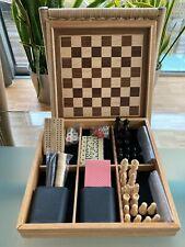Spielesammlung Holz