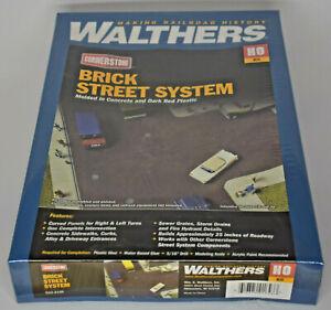 WALTHERS CORNERSTONE HO SCALE BRICK STREET SYSTEM KIT 933-3139 STILL SEALED