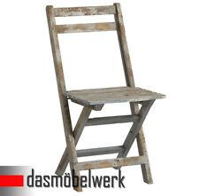 Klappstuhl Stuhl Deko Sitzmöbel klappbar Shabby Chic Design 13.170.03