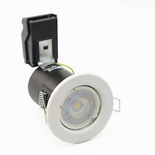 Downlights LED 6.5w Dimmable Fire Rated Recessed White 6400k Samsung LED