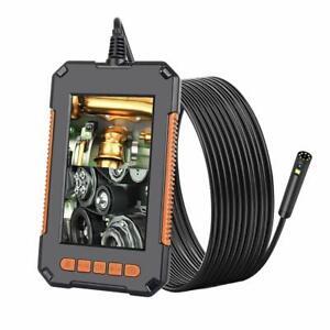 "Industrial Endoscope Dual Lens Borescope Inspection Camera 1080P HD 4.3"" Screen"