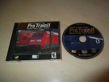 PROTRAIN II LEIPZIG - RIESA - DRESDEN ~ MICROSOFT TRAIN SIMULATOR ADD-ON NO BOX