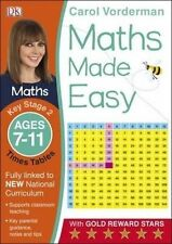 Maths Made Easy Times Tables Ages 7-11 Key Stage 2ages 7-11, Key Stage 2 (Carol